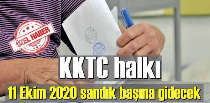 KKTC halkı yarın (11 Ekim 2020) sandık başına gidecek