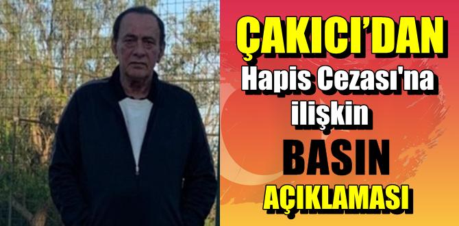 10 Ekim 2020/ Çakıcı'nın Hapis Cezasına ilişkin Basın açıklaması!