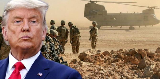 Trump yönetimi, Afganistan ve Irak'taki tüm askerleri çekiyor!