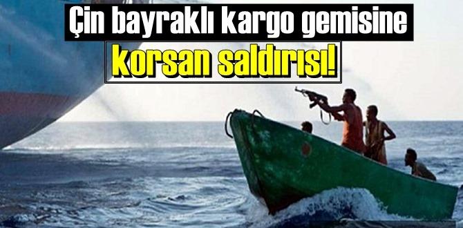 Gine Körfezi'nde Çin bayraklı kargo gemisine korsan saldırısı!
