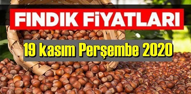 19 kasım Perşembe 2020 Türkiye günlük Fındık piyasası, Fındık bugüne nasıl başladı