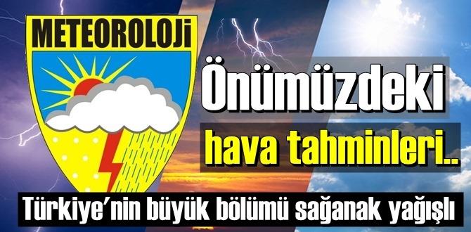 Meteoroloji Genel Müdürlüğü 5 Kasım 2020 perşembe, önümüzdeki hava tahminlerini açıkladı!