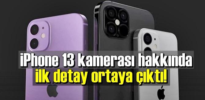 iPhone 13 daha düşük diyafram ile gelecek!