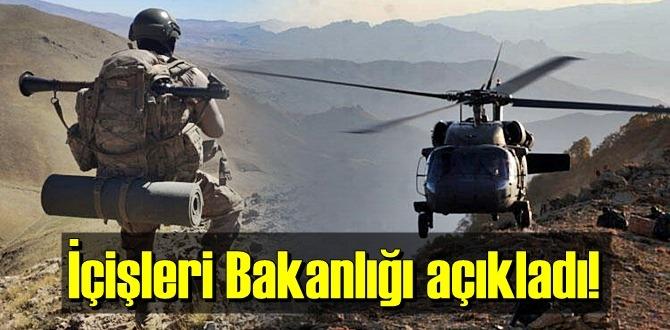 Yıldırım-10 operasyonu Tendürek Dağı bölgesinde devam ediliyor..