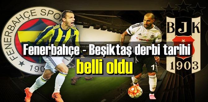 Fenerbahçe - Beşiktaş derbi tarihi 29 Kasım 2020 Pazar günü