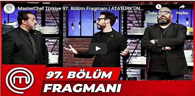 10 Kasım MasterChef Türkiye 97.Bölüm Fragmanına bakıver