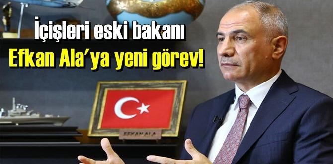 Efkan Ala, AK Parti Dış İlişkilerden Sorumlu Genel Başkan Yardımcılığı görevine getirildi
