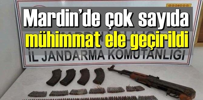 İstihbarat değerlendirildi ,Mardin'de çok sayıda mühimmat ele geçirildi!