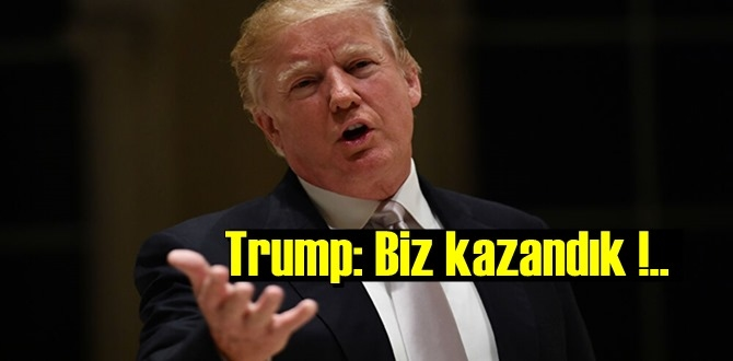 Trump, Oylar sayılsın bizim kazandığımız ortaya çıkacak!