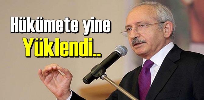 CHP Genel Başkanı Kılıçdaroğlu: Deprem üzerinden fırsat yaratıp hükümete Yüklendi!
