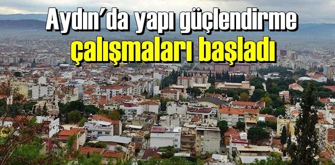 Deprem riski taşıyan Aydın'da hazırlık çalışmaları hız kazandı