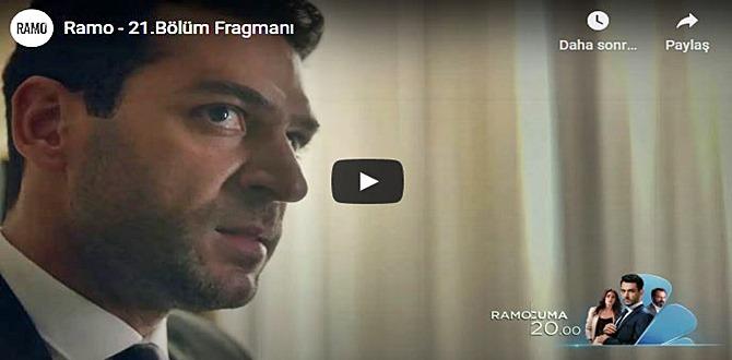 14 kasım – Ramo 21.Bölüm Fragmanına bakıver