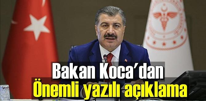 Bakanı Koca önemli açıklamalarda bulundu, koronavirüs alacağımız tedbirlerden güçlü değildir!