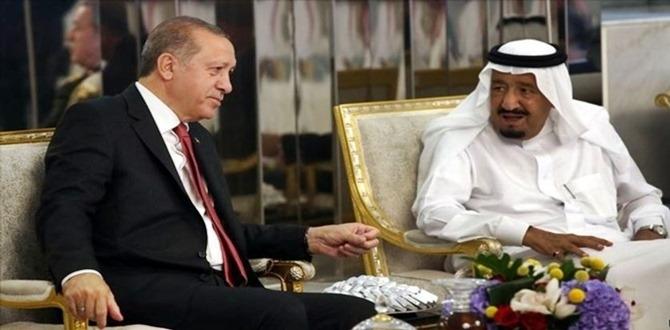 Başkan Erdoğan, Kral Abdülaziz el-Suud ile telefonda görüştü
