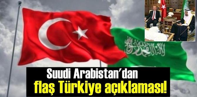 Suudi Arabistan'dan dikkat çeken Türkiye açıklaması! ilişkilerimiz mükemmel