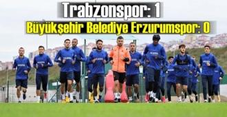 Trabzonspor, Abdullah Avcı ile güldü! 5 hafta sonra galibiyet geldi!