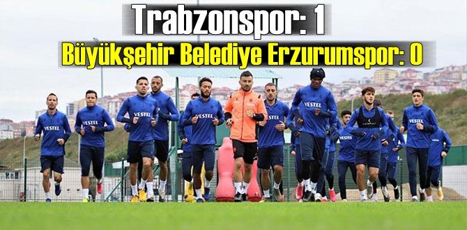 Trabzonspor, Abdullah Avcı ile güldü! 5 hafta sonra galibiyet geldi