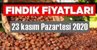 23 kasım Pazartesi 2020 Türkiye günlük Fındık piyasası, Fındık bugüne nasıl başladı