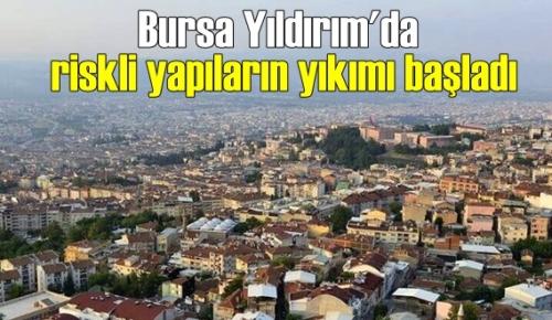 Bursa'nın Yıldırım ilçesinde yeni imar planıyla dönüşüm hızlandı.