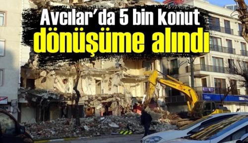 İstanbul'un deprem tehlikesine karşı riskli ilçelerinden Avcılar'da kentsel dönüşüm sürüyor.