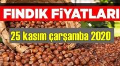 25 kasım çarşamba 2020 Türkiye günlük Fındık piyasası, Fındık bugüne nasıl başladı