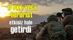 Barış Pınarı bölgesi'nde PKK/YPG'li teröristler Büyük darbe indirildi!