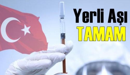Türk Aşısı Tamam! Aşı Kullanıma Hazır hale geldi