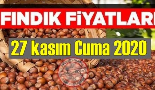 27 kasım Cuma 2020 Türkiye günlük Fındık piyasası, Fındık bugüne nasıl başladı