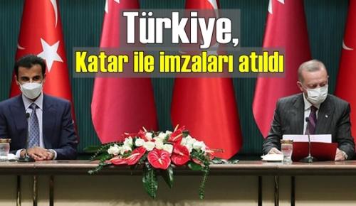 Türkiye ve Katar anlaştı imzalar atıldı, Güç birliğine gidildi!