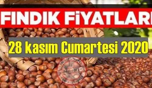 28 kasım Cumartesi 2020 Türkiye günlük Fındık piyasası, Fındık bugüne nasıl başladı