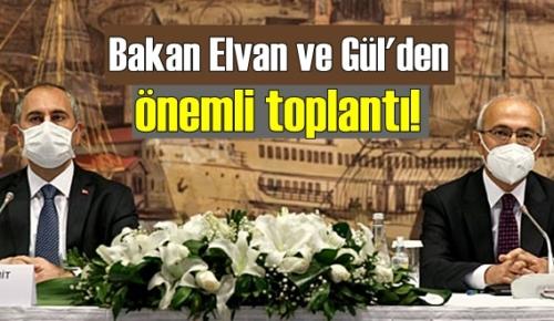 Bakan Elvan ve Gül ikinci Toplantıyla tekrar bir araya geldi!