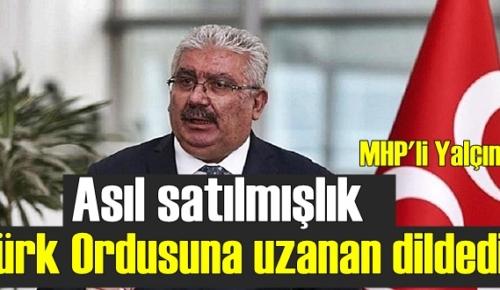 MHP'li Yalçın, CHP'li Başarır'ı sert eleştirdi!