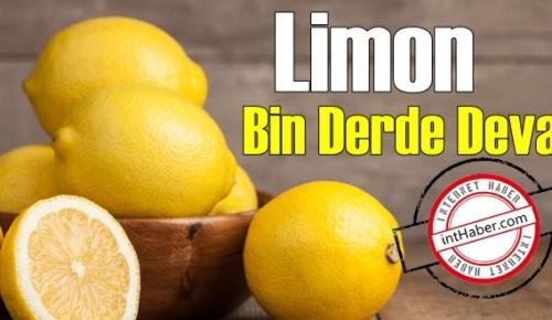 Boşuna dememişler Bayılana Limon! Binbir derde Deva olan Limonu eksik etmeyin!