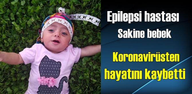 Daha 2 yaşında bile değildi, Sakine bebek koronavirüse yenik düştü!