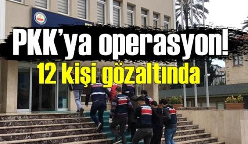 PKK/KCK Şehir yapılandırmasına baskın, müteahhit, mühendis ve memurların olduğu birçok kişi gözaltına alındı