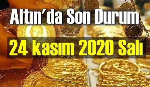 24 kasım 2020 Salı Ekonomi'de Altın piyasası, Altın güne nasıl başlıyor