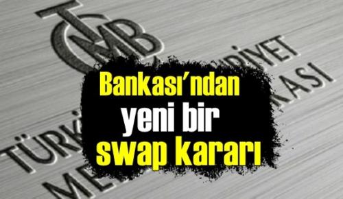 26 kasım 2020 Merkez Bankası'ndan yeni bir swap kararı!