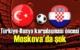 A Milli Futbol Takımı Rusya ile karşılaşacak, karşılaşması öncesi Moskova'da şok!