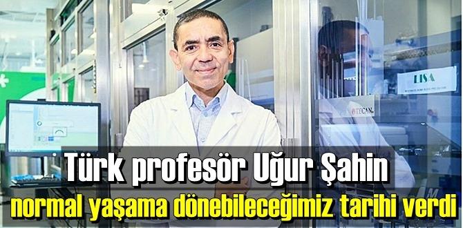Dünya Türk profesör Uğur Şahin'i konuşuyor! Aşı yüzde 90 oranında etkili!