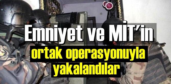Emniyet ve MİT'in takibinde olan DEAŞ'lı 2 terörist Keşif yaparken yakalandı!
