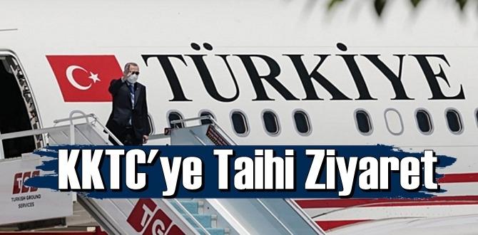 Erdoğan ile Bahçeli'den KKTC'ye Taihi Ziyaret,46 yıl sonra Maraş ziyaret !