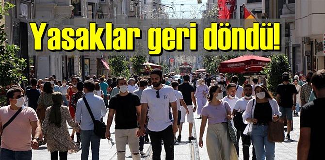 Yasaklar geri döndü! Açıklamayı Cumhurbaşkanı Erdoğan yaptı!
