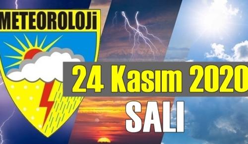 24 Kasım SALI 2020/ bugün hava nasıl Olacak, Meteoroloji bugünü açıkladı