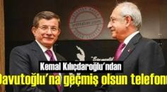 Kemal Kılıçdaroğlu'ndan Davutoğlu'na geçmiş olsun mesajı gecikmedi!