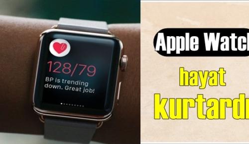Akıllı Saat Apple Watch, hayat kurtardı!