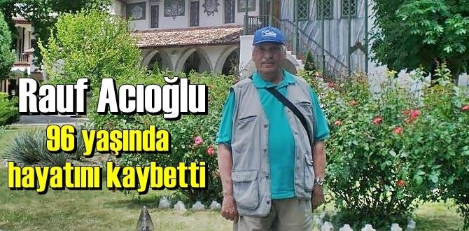 Kırım Türkleri Amerikan Birliği kurucularından Rauf Acıoğlu 96 yaşında Vefat etti