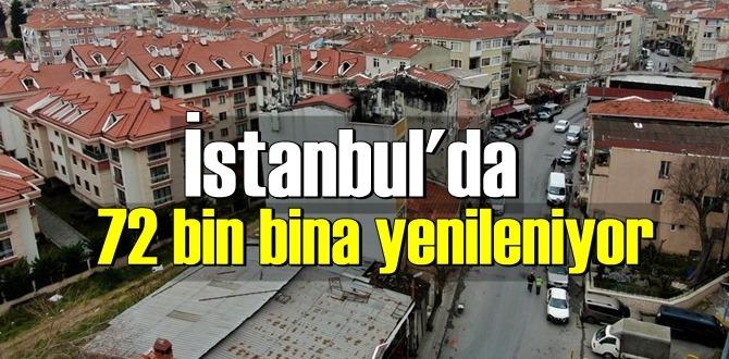 İstanbul'da 72 bin bina yenileniyor