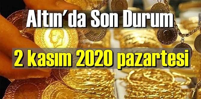 2 kasım 2020 pazartesi Ekonomi'de Altın piyasası, Altın güne nasıl başlıyor!