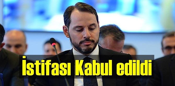 Affını isteyip görevden ayrıldı! Bakan Albayrak'ın istifası kabul edildi!