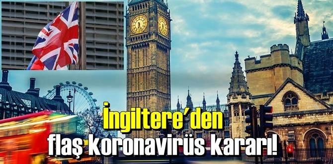 Boris Johnson duyurdu, İngiltere'de tekrar Karantina kararı alındı!